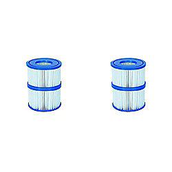 Filter Cartridge VI for Lay-Z-Spa Miami, Vegas, Monaco 2x Twin Pack