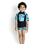 Speedo Infant's Essential UV Sun Top - Navy