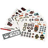 Star Wars The Force Awakens Tattoo Sticker Set