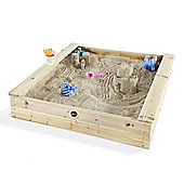 Plum Square Wooden Sandpit