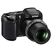 "Nikon Coolpix L320 Camera Black 16.1MP 26xZoom 3"" LCD 720HD 22.5mm Wide Lens"