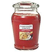 Yankee Candle Lge Jar Apple Crumble