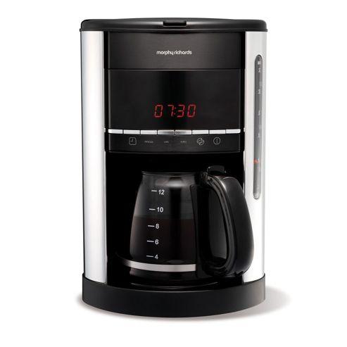 Morphy Richards 47087 Accents Espresso Coffee Machine - Black
