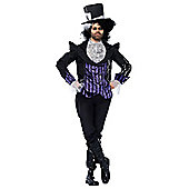Dark Mad Hatter - Adult Costume Size: 42-44