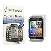 S-Protect LCD Screen Protector & Micro Fibre Cleaning Cloth - HTC WildFire S