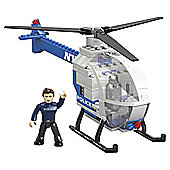 Mega Bloks World Builders NYPD Chopper