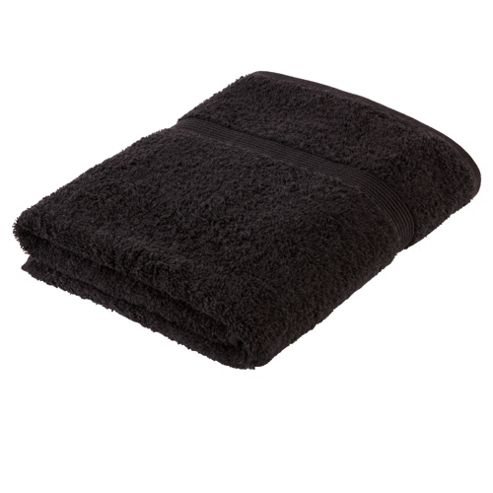 Tesco Fresh Touch Anti-Bacterial Bath Towel Black