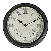 Town and Country Outdoor Weather Station Clock