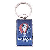Euro 2016 Metal key ring