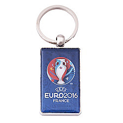 Euro 2016 Metal key ring