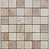 Buxton Marble Beige Mosaic Sheet 302x302mm (1.01 M² / Box)