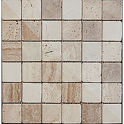 Buxton Marble Mosaic Beige 302x302mm