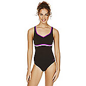 Speedo Sculpture® Contour Swimsuit - Black