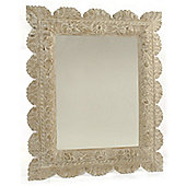 Papa Theo Frascati Mirror - Natural Limed