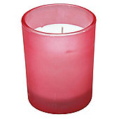 Filled Candle Jar, Pink