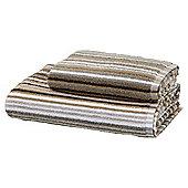 Natural Stripe Bath Towel
