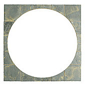 The Real Paving Company Cotswold Circle Squaring Off Kit, Antique 2.4M