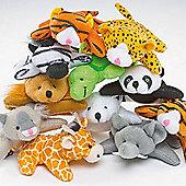 Mini Animal Bean Pals-Pack of 10 children kids