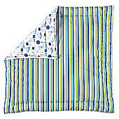 BabyDan Felix Reversible Play Mat Tarok and Blue