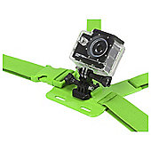 KitVision Action Cam / GoPro Chest Mount, Green