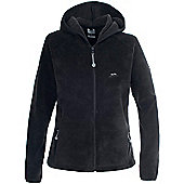 Trespass Ladies Jane Full Zip Fleece - Black