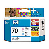 Hewlett-Packard C9405A No.70 Printhead -Light Cyan and Light Magenta