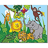 Jungle Canvas Wall Art, 40 x 50 cm