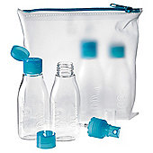 Go Travel Airport Approved Bottles, Set of 4