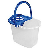Tesco Basics Bucket and Wringer Blue