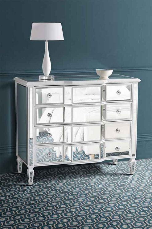 Buy My Furniture Leonore Mirrored Chest Of Drawers From Our Chests Of Drawers Range Tesco