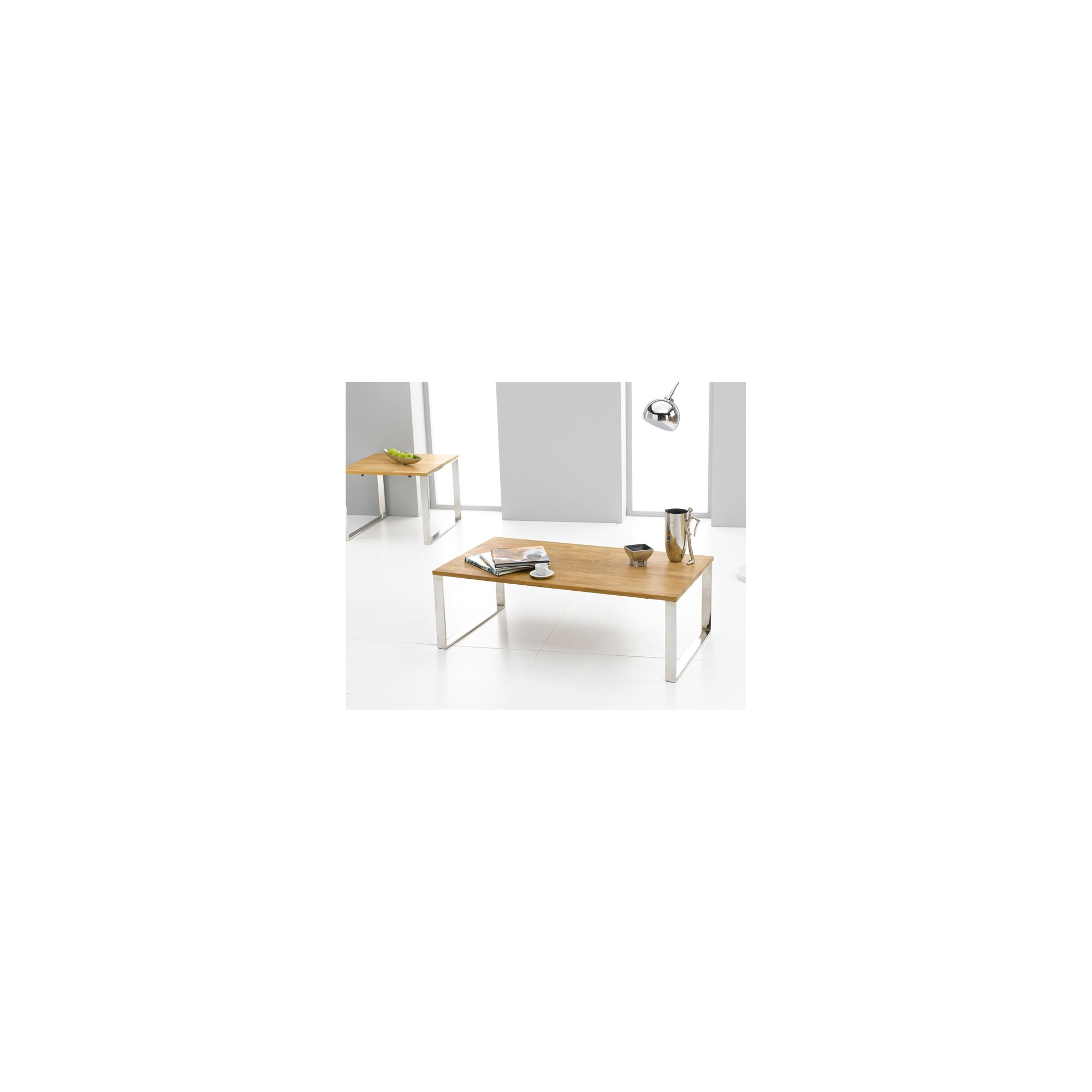 Mark Harris Furniture Cardinal Coffee Table in Solid Oak at Tesco Direct