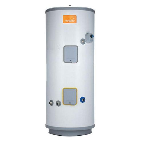 Heatrae Sadia Megaflo Eco 170SD Unvented Direct Stainless Steel Solar Hot Water Cylinder 170 Litres