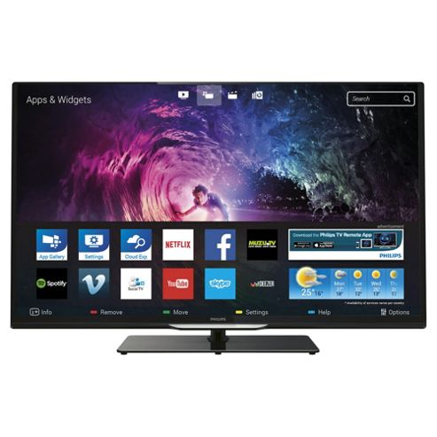 Philips 39PFL4208T 39 Inch Smart WiFi Built In Full HD 1080p LED TV With Freeview HD
