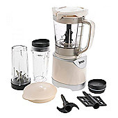 Ninja Pulse BL200 700w 40oz Food Processor Bowl and Attachments in Cream
