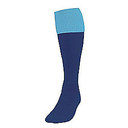 Precision Training Turnover Football Socks Mens Navy/Sky