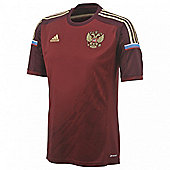 2014-15 Russia Home World Cup Football Shirt (Kids) - Red