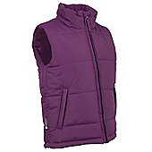 Maple Kid's Padded Gilet - Purple