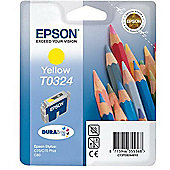 Epson T0324 Ink Cartridge for Stylus C70/C80 Printers - Yellow