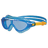 Speedo Rift Mask Junior Swimming Goggles, Blue