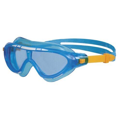 Speedo Rift Mask Junior Swimming Goggles, Blue
