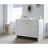 Tutti Bambini Sovereign  Nursery Chest Changer, High Gloss White