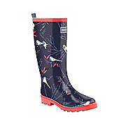Regatta Ladies Fairweather Wellington Boot - Navy