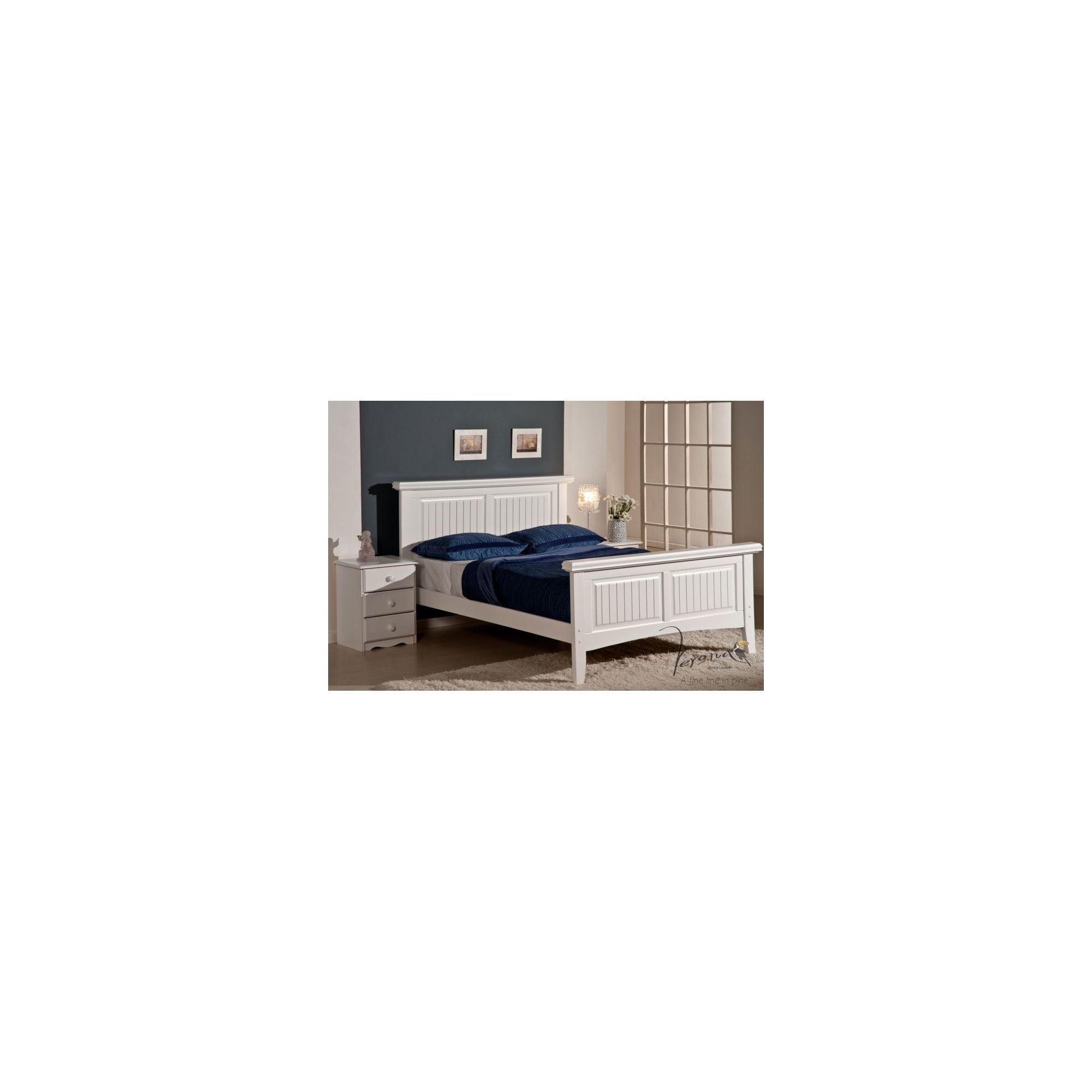 Verona Lazio Bedstead - Double at Tesco Direct