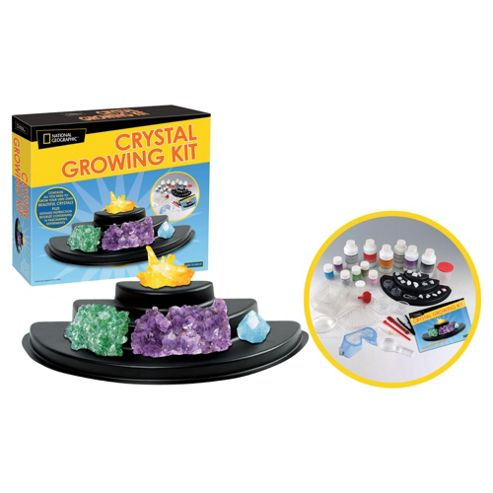 National Geographic Crystal Growing Set