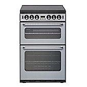 New World NH550TSIDOMSIL, 550mm, Silver, Gas Cooker