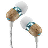 HOUSE OF MARLEY SMILE JAMAICA EARPHONES (MINT WITH MICROPHONE)