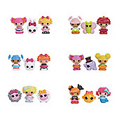 Lalaloopsy Tinies Figures 3 Pack Assorted