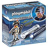 Playmobil Headlight with Spy Team Agent