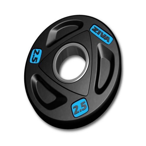 Ziva Rubber Olympic Weight Plate - 25kg
