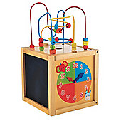 Mothercare Safari Wooden Activity Cube
